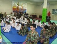 تقدیر از مربیان مسئولین مسجد اخوان