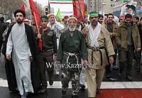 راهپیمایی 22 بهمن 1393 رزم انتظاران