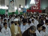 نماز جماعت بعد از راهپیمایی 22 بهمن 1393