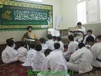 کلاس قرائت قرآن و احکام توسط اساتید