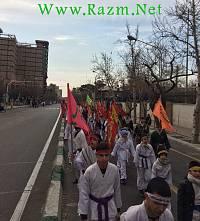 راهپیمایی 22 بهمن رزم انتظاران