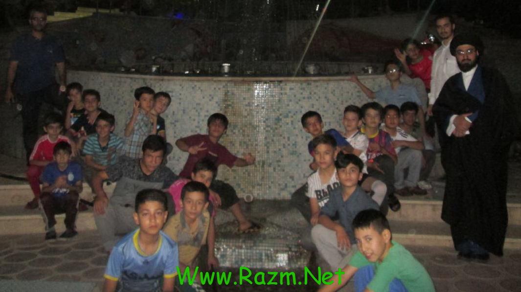 هم اکنون 25 نفر از بچه های مسجد در طلائیه